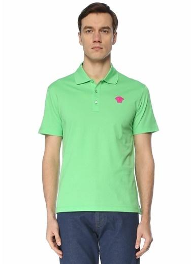 Versace Polo Yaka T-shirt Yeşil